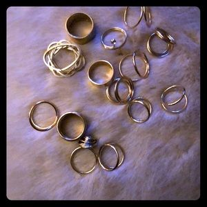 Set of 14 rings!